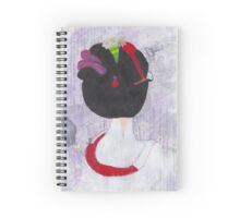 Geisha Girl Spiral Notebook