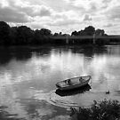 Row Boat on the Thames by Chris Whitney