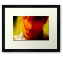 Self Crazy Framed Print