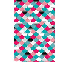 Scale Pattern Photographic Print