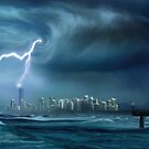 Gold Coast storm by Cliff Vestergaard