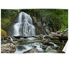 Moss Glen Falls - Midstream Poster