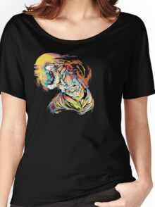 Sunrise Tiger Women's Relaxed Fit T-Shirt