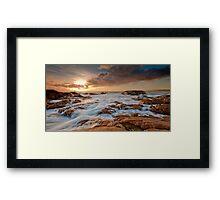 Dusk at Smiths Beach II Framed Print