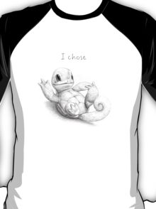 I chose Squirtle T-Shirt