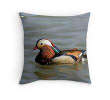 Mandrin Duck Throw Pillow
