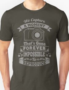 photography photographer t-shirt T-Shirt