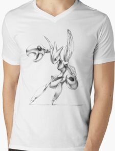 Scizor - original illustration Mens V-Neck T-Shirt