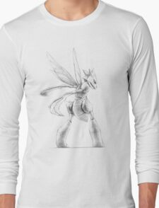 Scyther - original illustration Long Sleeve T-Shirt