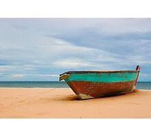 The Old Boat at Ban Krut Beach Photographic Print