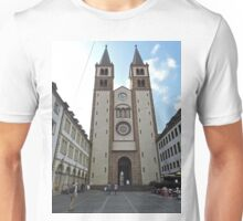 Wurzburg Cathedral, Germany Unisex T-Shirt