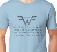 Words Of The Rock Gods Unisex T-Shirt