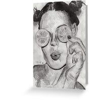 Citrus Vision Greeting Card