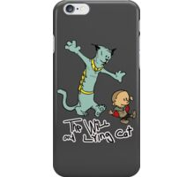 The Will and Lying Cat- SAGA / Calvin and Hobbes cross-over iPhone Case/Skin