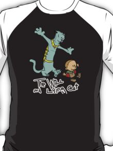 The Will and Lying Cat- SAGA / Calvin and Hobbes cross-over T-Shirt