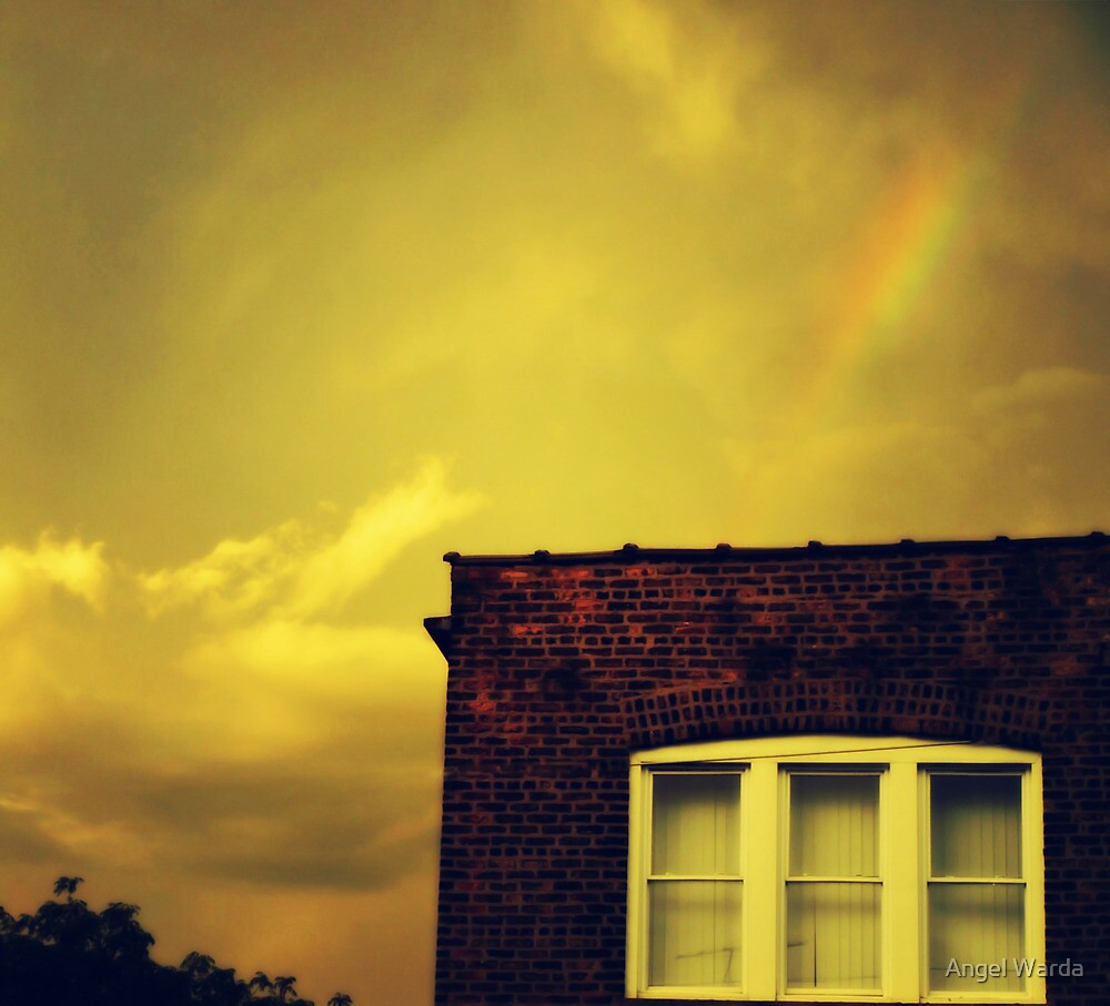 i saw a rainbow by Angel Warda