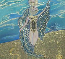 Demeter: Goddess of the Harvest by Qwijebo