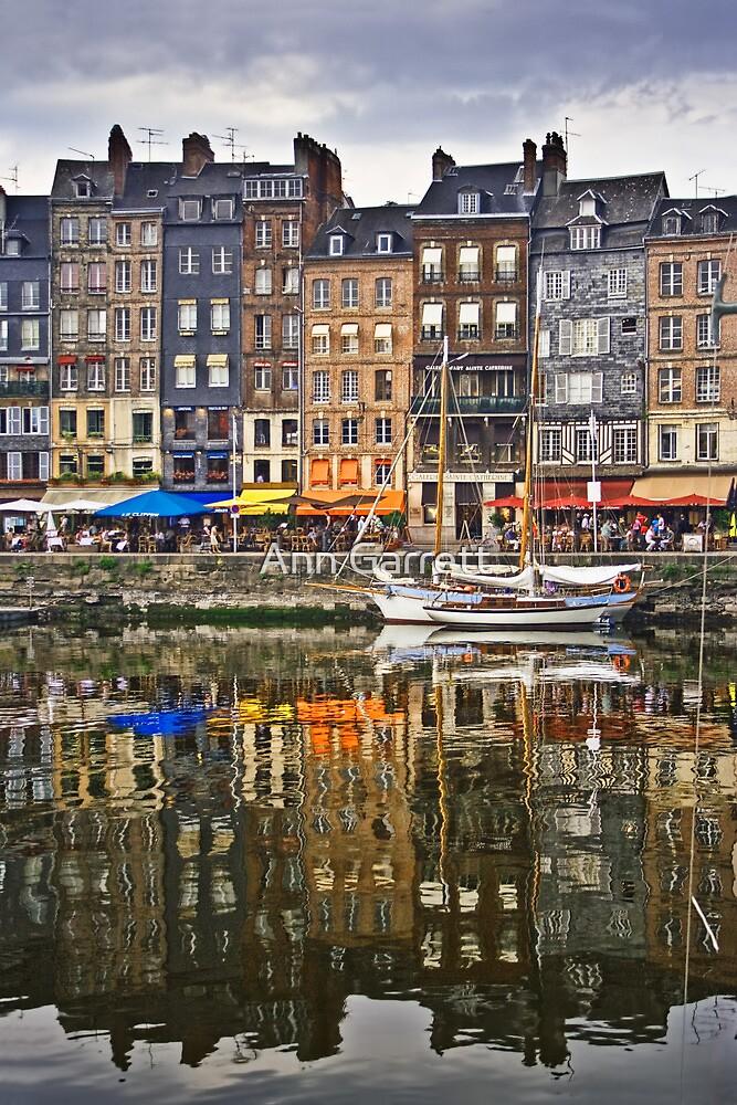 Honfleur, France by Ann Garrett