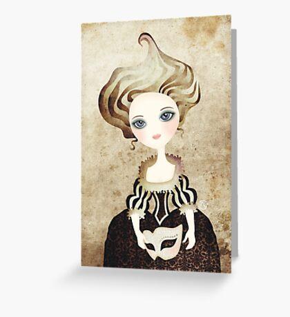 Madame Cupcake Greeting Card