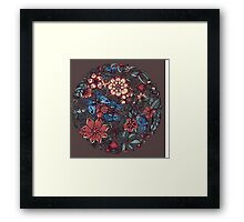 Circle of Friends in Colour Framed Print