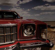 Old American Car (HDR) - Felixstowe Prom by GordonCox