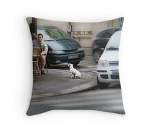 Blind Obedience. Throw Pillow