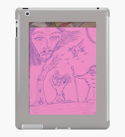 angry gods iPad Case/Skin