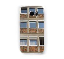 Sculptures of people at work, Nuremburg, Germany Samsung Galaxy Case/Skin