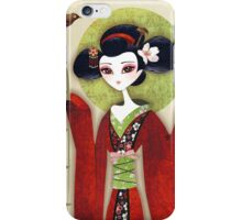 Sakura Girl iPhone Case/Skin