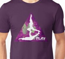 PLAY - Purple Trigon Unisex T-Shirt