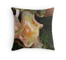 nice mushroom Throw Pillow