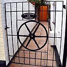 Original Sail Makers Gate by lynn carter