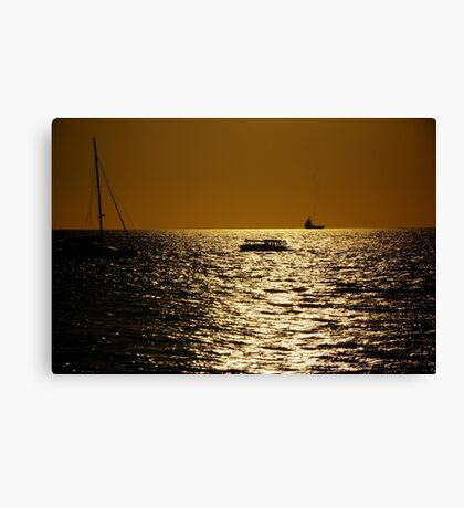 Sunset on Cullen Bay Canvas Print
