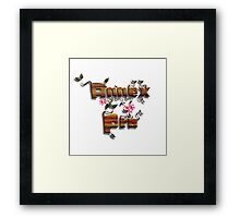 """Grow with Annex Pro"" Logo (no background/border) Framed Print"