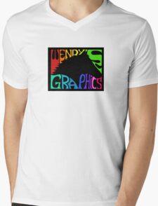 Wendy's Graphics Mens V-Neck T-Shirt
