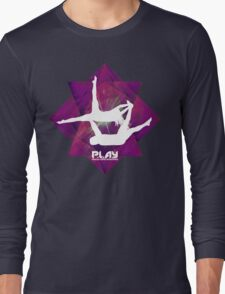 PLAY - Purple Octangle Long Sleeve T-Shirt