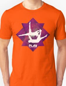 PLAY - Purple Octangle Unisex T-Shirt