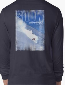 snowsurfing Long Sleeve T-Shirt