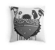 Some would say, make my day! (paint drip) Throw Pillow