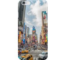 Times Square Traffic iPhone Case/Skin