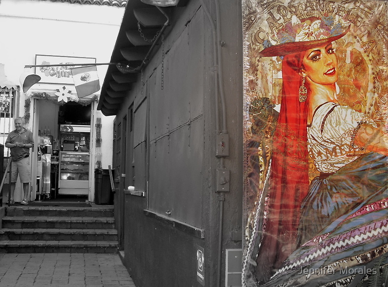 La Virgen de la calle Olvera by Jennifer Morales