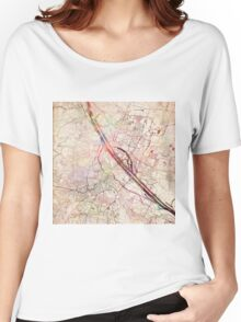 Vienna map Women's Relaxed Fit T-Shirt