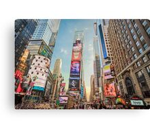 Times Square Hustle Canvas Print