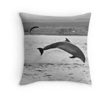 Don't play with your dinner! Throw Pillow
