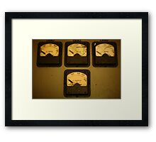 Kilowatts Framed Print