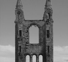 St Andrews Abbey, Scotland by Ellis Lawrence