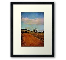 A different road ...  Framed Print