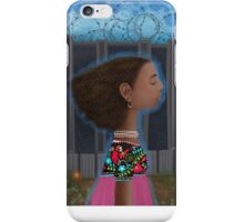 """I wish I was dreaming and when I woke up, the fence wasn't there"" iPhone Case/Skin"