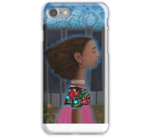 """""""I wish I was dreaming and when I woke up, the fence wasn't there"""" iPhone Case/Skin"""