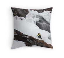 Waterfall solo Throw Pillow